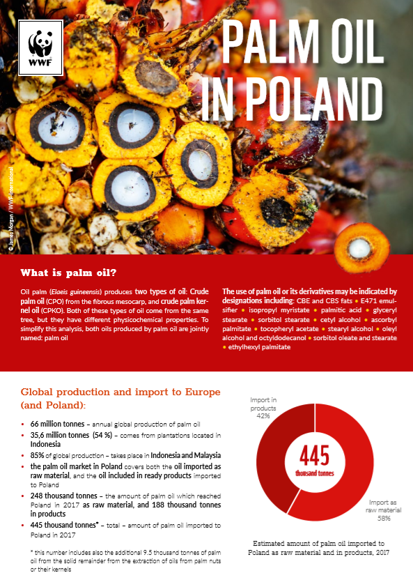 Palm oil in Poland